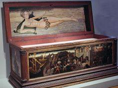 15th Century Cassone Birth of Venus