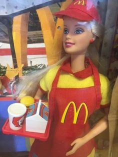 Collectable Mcdonald's Barbie And Kelly Dolls In Original Box | eBay