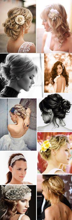 Wedding hairdos!