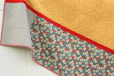 Diary of a Quilter - a quilt blog: Finished American Jane scraps quilt back
