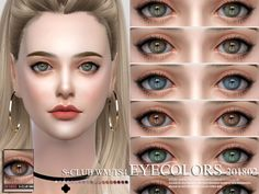 Eyecolors for all age, 15 swatches, hope you like, thanks! Found in TSR Category 'Sims 4 Eye Colors' Sims 4 Cc Eyes, Sims 4 Mm Cc, My Sims, Sims 4 Body Mods, Sims Mods, Maxis, Sims 4 Piercings, Sims 4 Gameplay, Sims 4 Cc Packs