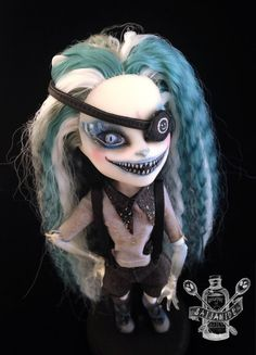 monster high repaint doll custom Cheshire cat by Saijanide on Etsy