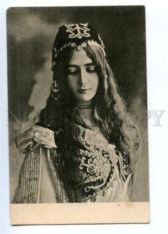 Cleo De Merode | 175549 CLEO DE MERODE French BALLET Dancer LONG HAIR vintage