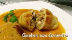 CREPES RELLENOS DE MARISCO | Cocina con Amarilis