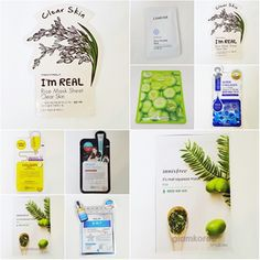 Mask Sheet 7 Different Kinds Korean Cosmetic Brand Tonymoly Laneige Innisfree  #LANEIGELEBELAGEIKELBLUMEITONYMOLYINNISFR