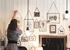 Cadre en verre - Mathûvû boutique concept store lyon décoration home bijoux accessoires maroquinerie vaisselle bloomingville house doctor papeterie