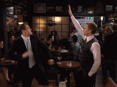 high five  HIMYM