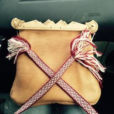 birkabag replica. wood pieces made by Nibbe Niclas and the bag made by Zara Nordhjelm