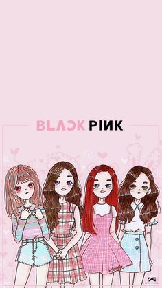 Blackpink wallpaper ##blackpink #wallpaper #hd #cute #colorful #lisa #rose #jisoo #jennie #fanart #chibi