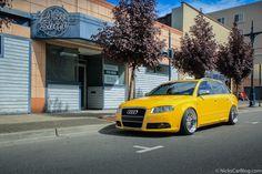 Cassie's Imola Yellow B7 Audi S4 Avant