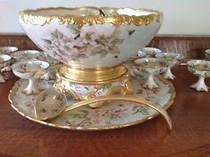 Limoges Punch bowl