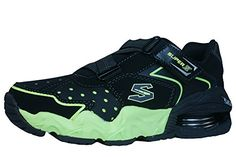 Skechers Alkali Hazed Boys Sneakers / Shoes - Black * Want to know more, visit http://www.amazon.com/gp/product/B00GYT6SHA/?tag=lizloveshoes-20&bc=140816074722