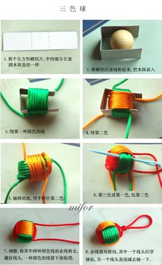 Sweet demonstration on how to quickly construct your own paracord monkey fist…Monkey fist bead handmade jewelry knot knotting macrame bySquare knot bracelet, double row of beads: Beads are strung on the two outer working ties. Square knots then tie Monkey Fist Knot, Diy And Crafts, Arts And Crafts, The Knot, Macrame Knots, Stitch Markers, Handicraft, Craft Projects, Weaving