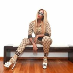 Oh My…Check Out Tiwa Savage's Outfit to Yesterday's Soundcity Awards