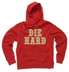 DIE HARD FOOTBALL SAN FRANCISCO HOODIE $55