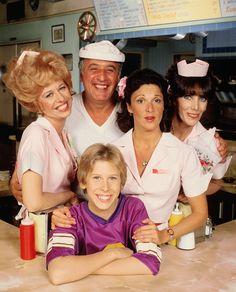 Cast portrait for season four of Alice (1979-80)