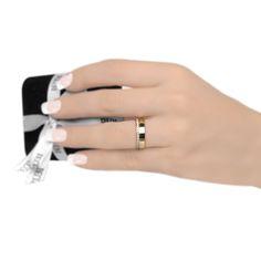 Aliança 18k Renoir Diamond - lojasrubi