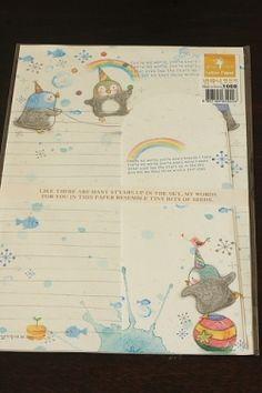 Kawaii Letter Set - Little Penguins