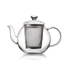 Clear Glass Teapot Tea for two!