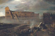 Coloseum Oswald Achenbach (German, 1827-1905)