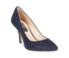 INC International Concepts Zitah Pointed Toe Rhinestone Evening Pumps - Evening & Bridal - Shoes - Macy's