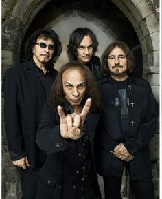 Dio with Black Sabbath