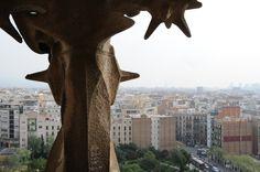 Beautiful Barcelona, from the top of La Sagrada Familia