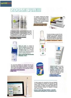 BeconfiDent's Duo Mousse in the French Magazine Santé Zen in October 2014
