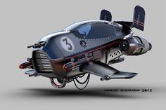 jomar-machado-b-the-wasp-peq. Berlin Events, Maserati, Ferrari, Hover Bike, Hover Car, Arte Sci Fi, Flying Vehicles, Sculpture Metal, Flying Car