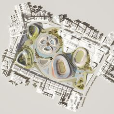 National Stadium and Sports Village / LAVA,masterplan Planning Sport, Addis Abeba, Stadium Architecture, Sport Park, National Stadium, Sports Stadium, Lava, Ancient Buildings, Sports Complex