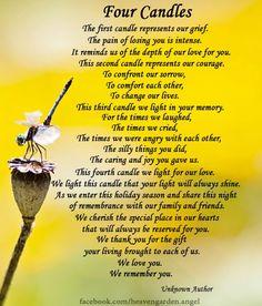 10 beautiful Memorial Poems – Heavens Garden