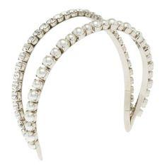 5310c83e19b1 Celebrities who use a Miu Miu Headband With Swarovski Stones and Pearls.  Also discover the movies
