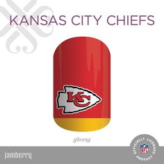 NFL Collection by Jamberry Kansas City Chiefs