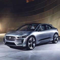 An icon in car revolution. #Jaguar #IPACE #Concept #ElectricCars #Power #Performance #Design #AmazingCars247