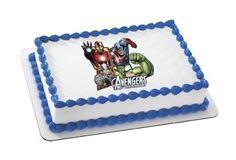 AVENGERS ASSEMBLE MARVEL SUPERHEROES Edible Image FROSTING SHEET Cake Topper DecoPac/BakeryCrafts http://www.amazon.com/dp/B00J9L1QUE/ref=cm_sw_r_pi_dp_JgZMvb0W4BFKE