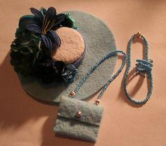 Silkstone-Barbie Basics Dolls-Fashion Hat; Accessories