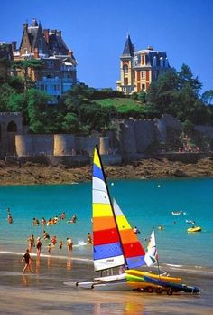 Dinard, Brittany France