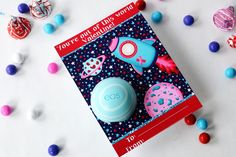 Outer Space Valentine Lip Balm Gift such an adorable idea for teacher valentines!