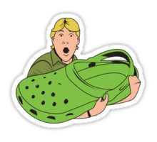 Steve Irwin stickers featuring millions of original designs created by independent artists. Decorate your laptops, water bottles, notebooks and windows. Patches Tumblr, Stickers Cool, Meme Stickers, Yeti Cooler Stickers, Preppy Stickers, Brand Stickers, Steve Irwin, Snapchat Stickers, Aesthetic Stickers