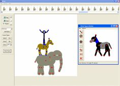 Pivot Stickfigure Animator: Pivot makes it easy to create stick-figure animations. You can build your own stick figures and load your own backgrounds. The animations can be saved as animated gifs to be used on web pages. An example animation is included. Stick Figure Animation, Create Animation, Principles Of Animation, Windows 95, Photoshop Cs5, Stick Figures, Software, Sweet Home, Artist