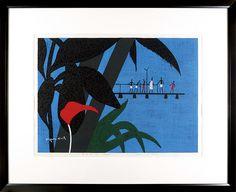 Tahiti (2) (1965) by Saito Kiyoshi /  タヒチ(2) (1965)斎藤清