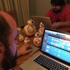 Não molhe os BB-8! Nem alimente-os depois de meia-noite... by azaghal