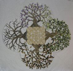 I got so drawn in to the whole Celtic idea that I combined a few different symbols for my Five Fold Tree of Life. The Five Fold Symbol has . Celtic Symbols, Celtic Art, Irish Celtic, Celtic Knots, Celtic Crosses, Celtic Quilt, Celtic Patterns, Celtic Designs, Celtic Images