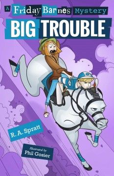 Friday Barnes, Big Trouble - This title is not available in Middleboro right now, but it is owned by other SAILS libraries. Follow this link to place your hold today!