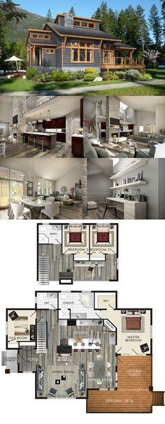 Tiny Home Designs: Plan #48-476 Www.houseplans.com Modern Style House Plan