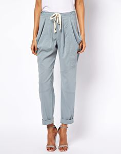 ASOS | ASOS Trousers with Drape Utility Pockets at ASOS