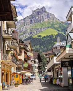 Picturesque Engelberg, Switzerland.