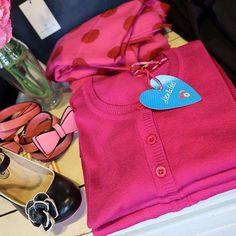 Pink 🎀🛍👚 #cristofoli #lien&giel #rosemunde #komogbesøg #nyevarer #newarrivals 💋
