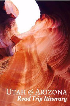 Utah Arizona US Road Trip Itinerary