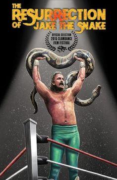 "Poster de la Peli The Resurrection of Jake ""The Snake"" Roberts"